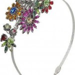 Louis Mariette – Jardin crystal-embellished hairband