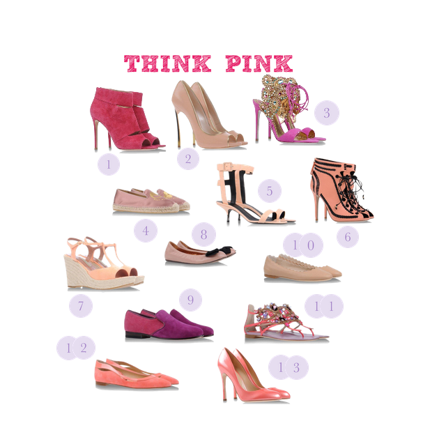 Shoescribe Pink Shoes