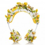 DOLCE & GABBANA- Lemon Floral Headphones