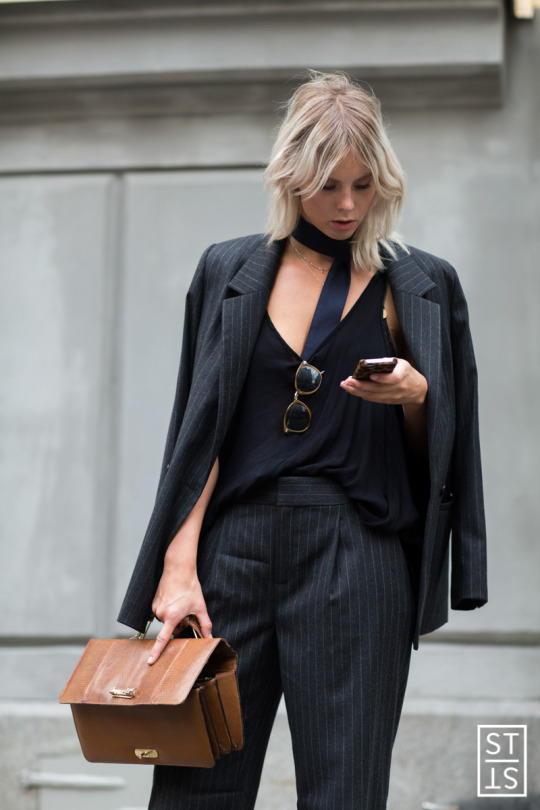 ph: Szymon Brzoska - Style Stalker Street Fashion during Stockholm Fashion Week SS 2016