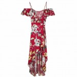 BERSHKA – Floral Ballerina Dress