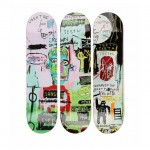 JEAN-MICHEL BASQUIAT X THE SKATEROOM – 'In Italian' Skateboards