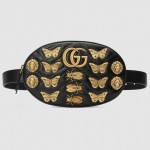 GUCCI – Marmont Animal Studs Leather Belt Bag