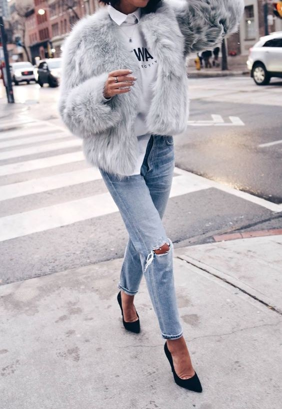 streetstyle-jeans-fur