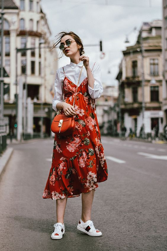 streetstyle-red-dress