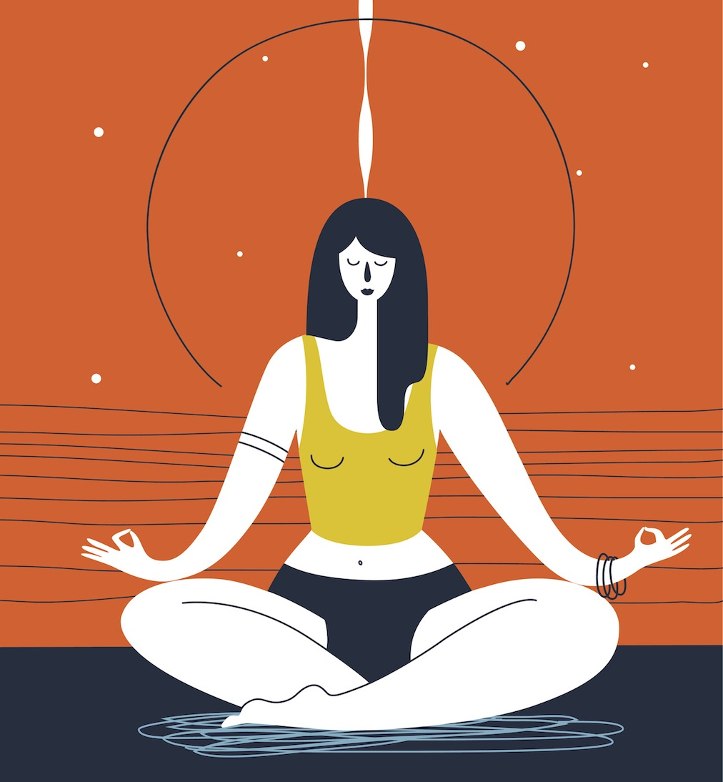 trataka-yogic-gazing
